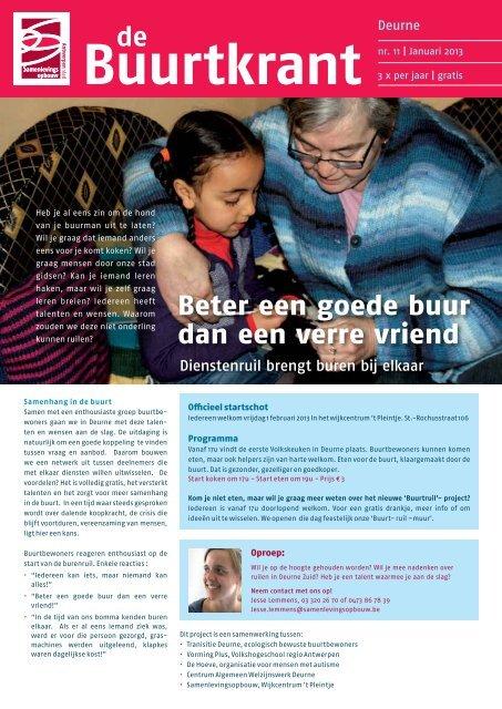 De Beter Een Goede Buur Dan Een Verre Vriend Riso Antwerpen