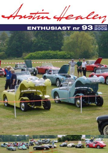 ENTHUSIAST nr 93 DECEMBER - Austin Healey Club Sweden