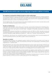 DELABIE beantwoordt de noden van de wetgeving ivm beperkte ...