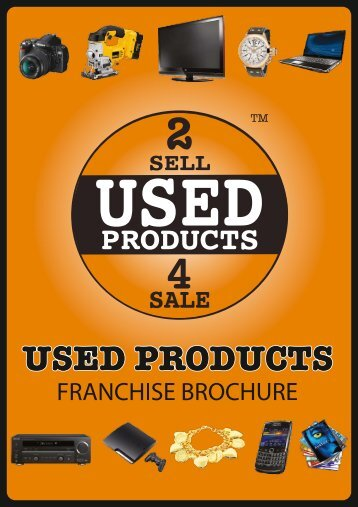 Franchise brochure - Used Products