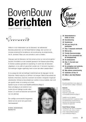 Voorwoord - Rudolf Steiner College Rotterdam
