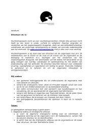 Vacature Directeur (m/v) - Vluchtelingenwerk Vlaanderen