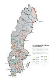 Nya hastighetsgränser - riksvägar (ej nationella vägar)
