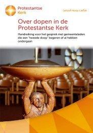 Over dopen in de Protestantse Kerk: Handreiking voor het gesprek ...