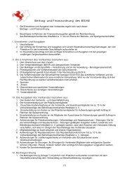 BSVW Beitrags- und Finanzordnung - Betriebssportverband ...