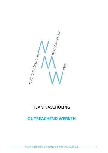 Outreachend werken - Nascholingscentrum Maatschappelijk Werk