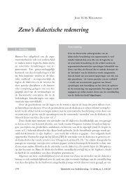 Zeno's dialectische redenering - UvA DARE - Universiteit van ...