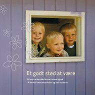 Rummelighed - pjece fra Allerød Kommune - dlf