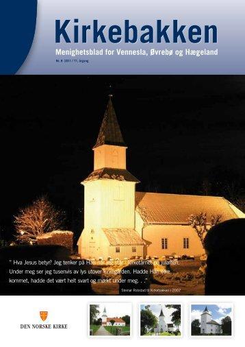 Kirkebakken nr.8 - Vennesla menighet