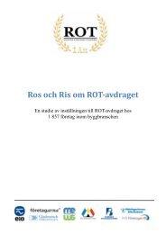 Ros och Ris om ROT-avdraget - Publikationer från Sveriges ...