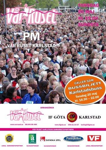 Vår Ruset PM i pdf-format - IF Göta Karlstad