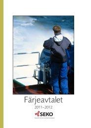 Färjeavtalet - SEKO sjöfolk