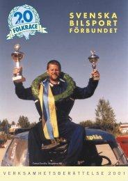 2001 - Svenska Bilsportförbundet