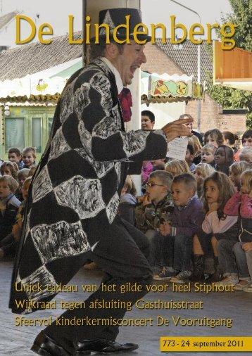 De Lindenberg 773 (24 september 2011) - Stiphout NU