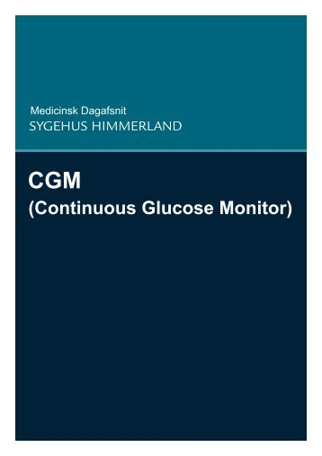(Continuous Glucose Monitor) - Sygehus Himmerland