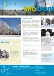 Infokrant december-januari 2010-2011 - Gemeente Herent