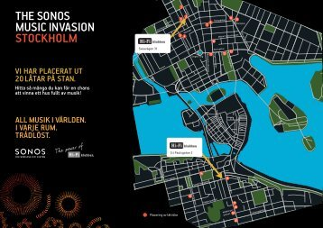 the sOnOs music invAsiOn stOckhOlm - SONOS Music Invasion - Hi ...