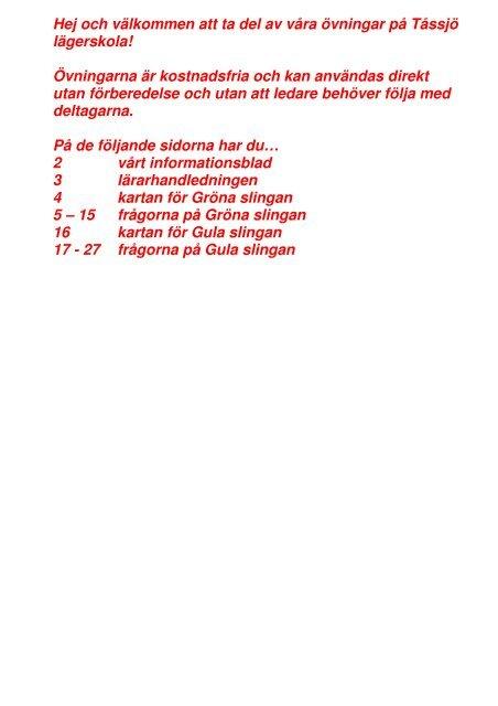 Orienteringsovningar 7 4 Mb Angelholms Kommun