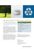 Minska miljöbelastningen och förbättra samtidigt er brandsäkerhet - Page 2