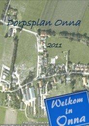 Voorwoord – Dorpsplan Onna - Gemeente Steenwijkerland