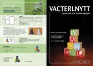 Vacterlnytt nr 3 2011