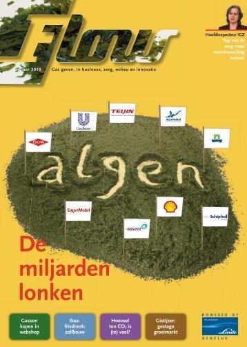 Flow magazine najaar 2010 - Linde Gas Benelux