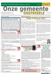 maart 2011 - Gemeente Oosterzele
