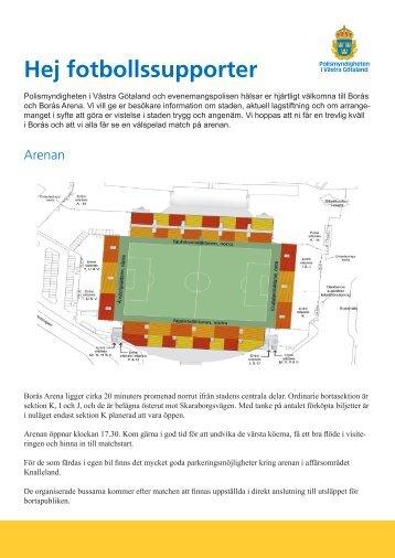 följande information inför matchen (länk till pdf-fil). - DIF Fotboll