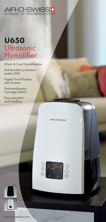 U650 Ultrasonic Humidifier