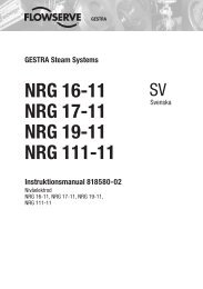 NRG 16-11 NRG 17-11 NRG 19-11 NRG 111-11 - Gestra AG