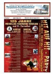 Stadthalle - Stadt Torgelow