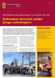 nieuwsbrief - Gemeente Schiedam
