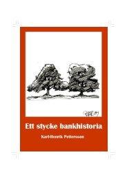 Ett samtal om den svenska sparbanksrörelsen under 1980-talet