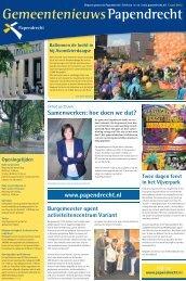 13 juni 2012 - Gemeente Papendrecht
