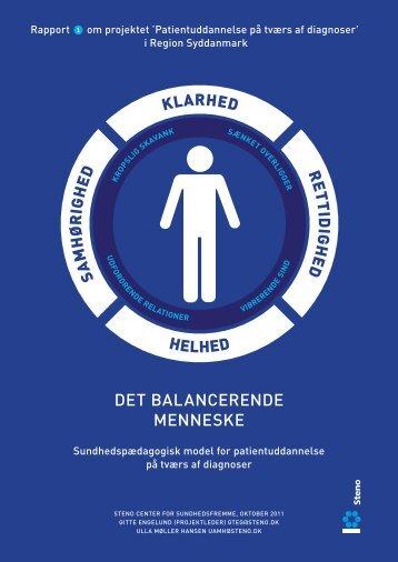 det balancerende menneske - Steno Diabetes Center