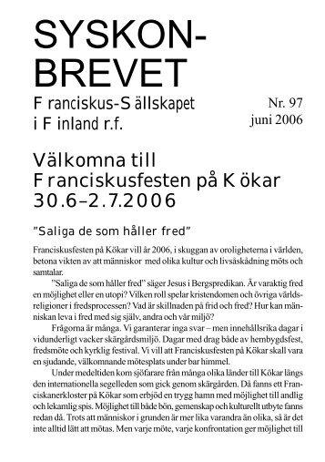 Här - Franciskus-Sällskapet i Finland