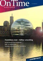 Framtidens stad – hållbar utveckling - Combitech.se