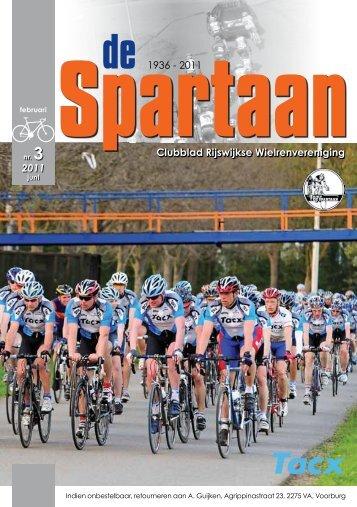 Clubblad Rijswijkse Wielrenvereniging 1936 - 2011 2011