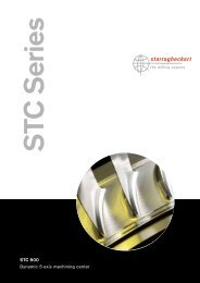 STC 800 Dynamic 5-axis machining center