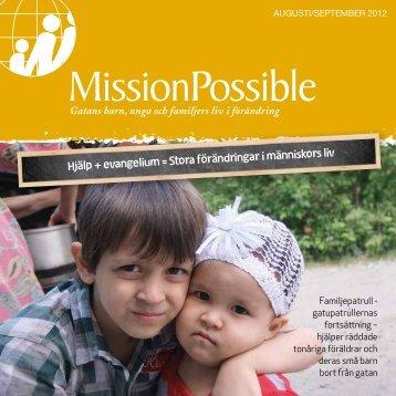 Hjälp + evangelium = Stora förändringar i ... - Mission Possible