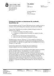 Förslag på områden av riksintresse för vindkraft i Stockholms län