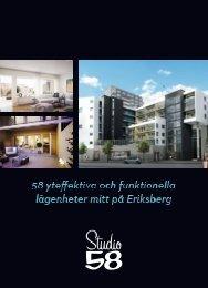 Ladda ner broschyren - Studio 58