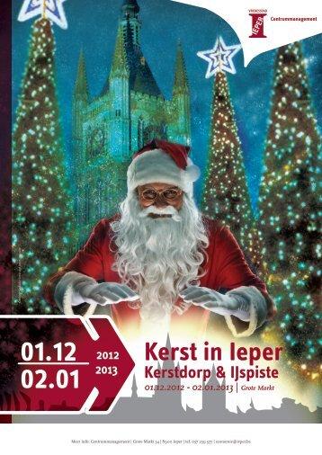 Kerst in Ieper - Kerstmarkt Ieper
