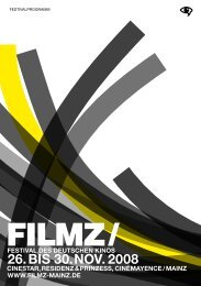 Filmz-Programmheft