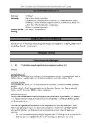 Notulen Raad 20130122 - OCMW Halle
