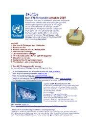 Oktober 2007 (PDF-dokument, 222 kB) - Svenska FN-förbundet