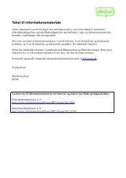 Tekst til informationsmateriale - henning stæhr a/s