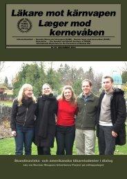LMK 99 low.indd - Svenska Läkare mot Kärnvapen