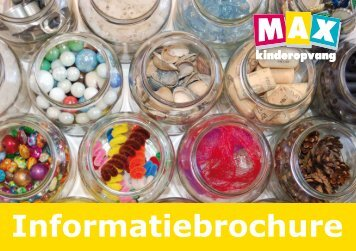 Algemene informatie brochure - Max Kinderopvang