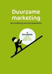 de marketing van duurzaamheid - VAR